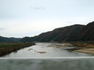 山陰道 斐川−出雲
