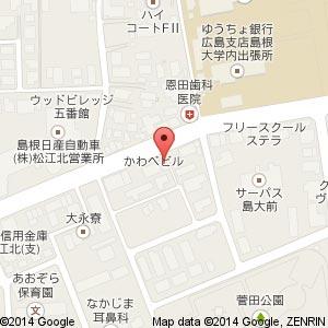 大阪やき三太 松江学園店の地図