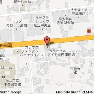 ソフトバンク松江中央の地図