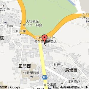 勢溜前東側の新店舗(めのや・阿国茶屋)の地図