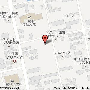 シニアコート渡橋町の地図