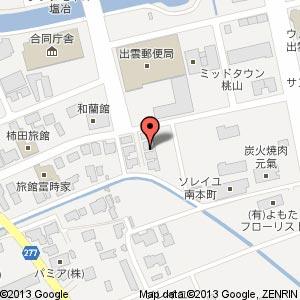 千金堂 出雲店の地図