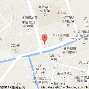セブンイレブン 浜田県立体育館前店の地図