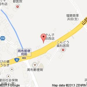 セブン-イレブン 浜田周布店の地図