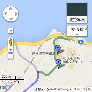 (都)宍道中央線の地図