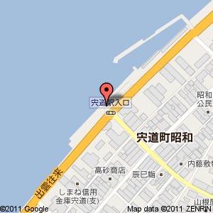宍道花火大会の地図