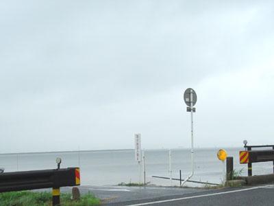本日の宍道湖