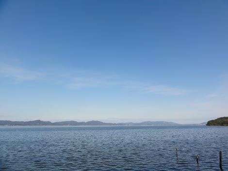 2011年大晦日の宍道湖
