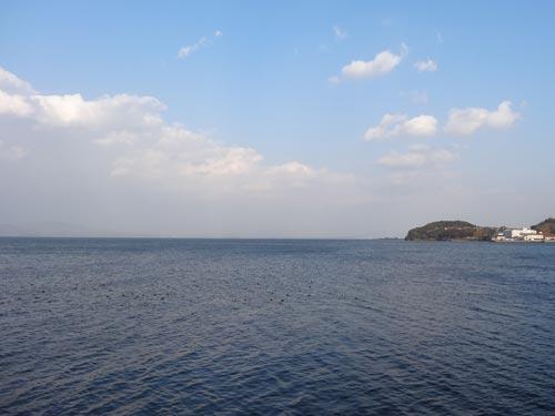 2013年の大晦日の宍道湖