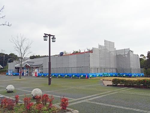 宍道湖SA(上り)売店増築工事