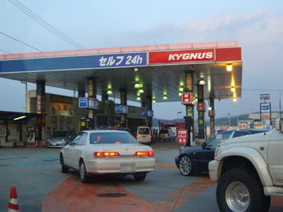 暫定税率失効。ガソリン値下げ初日
