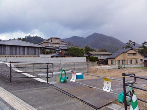 出雲大社前に2013年3月オープン予定の3店舗