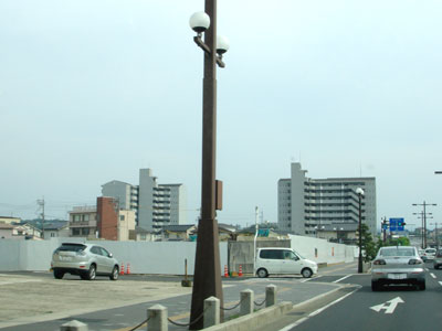 旧松江市立病院 解体工事中