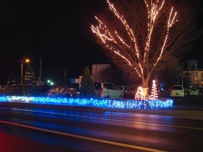 松江市役所イルミネーション2009