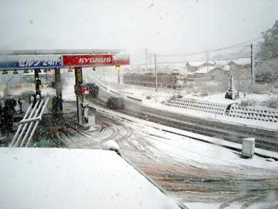 松江市宍道町 雪の状況