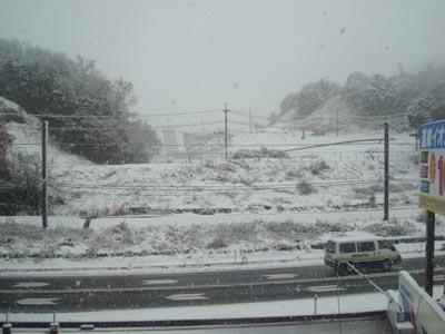 2009年1月10日 島根は大雪