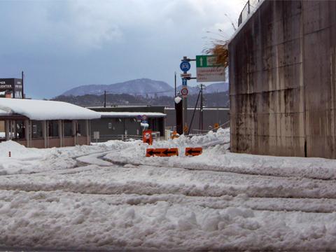 松江市 大雪の元旦