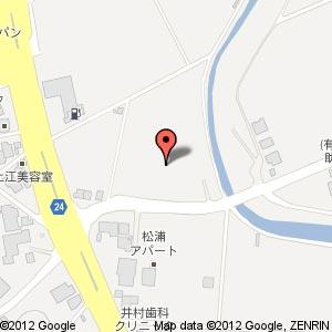 SD松江乃白北店(仮称)の地図