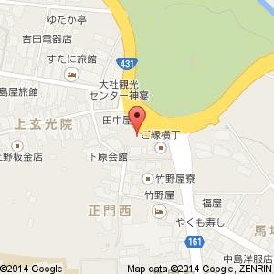 スターバックスコーヒー 出雲大社店の地図