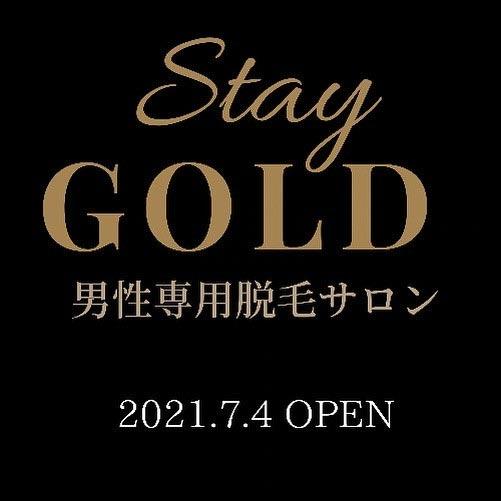 メンズ専用脱毛サロン Stay GOLD
