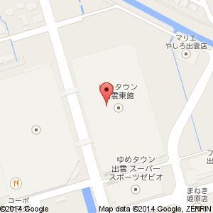 studioCLIP ゆめタウン出雲店の地図