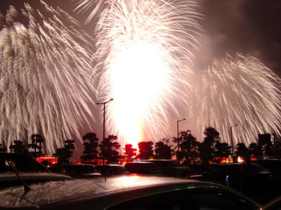 2008松江水郷祭の花火