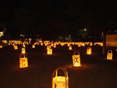 2009 松江水燈路 手作り行灯展