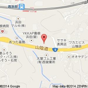 すき家 9号浜田店の地図