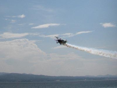 サニー横山 アクロバット飛行ショー イン 水郷祭