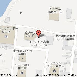 サンズビクトリー益田店の地図