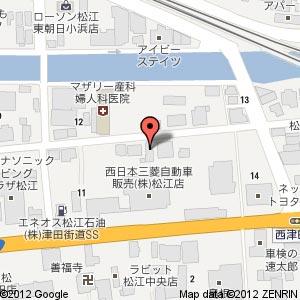 食材倉庫の地図