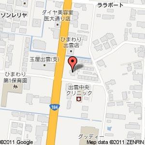 ラーメン・つけ麺 笑福 出雲店の地図