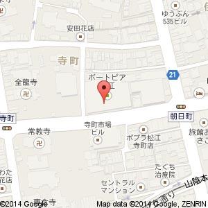 旬門松江店(移転後)の地図