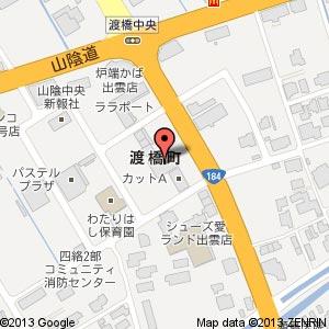 タックルベリー 出雲店の地図