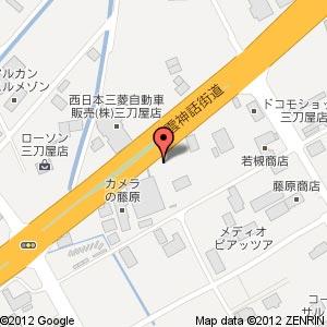 大耀堂薬局(たいようどうやっきょく)の地図