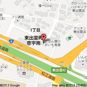 中華食堂 大家(タージャ)の地図
