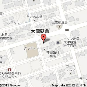 TAKEZO・ファームの地図