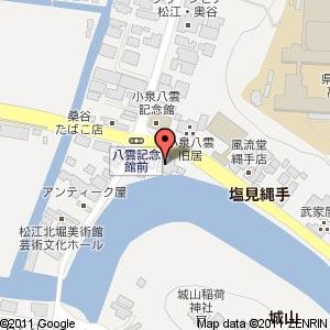 松江ごころの地図