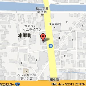 縁の宿お食事処 卓(たく)の地図