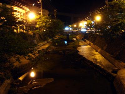 玉造温泉の夜景