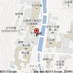 玉造アートBOXの地図