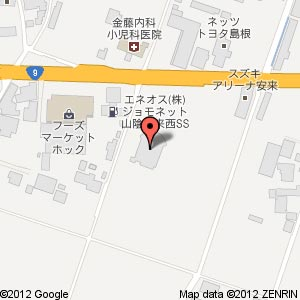テンイチマックス 安来店の地図