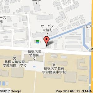 天使のお菓子工房 附中前店の地図