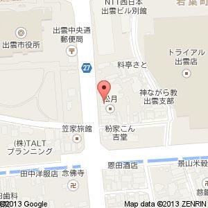 焼鳥・居酒屋 輝笑(てるしょう)の地図