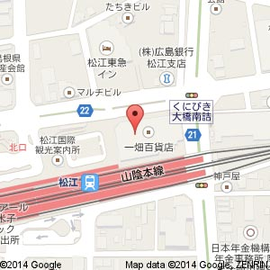 TO BE CHIC(トゥービーシック) 松江一畑店の地図