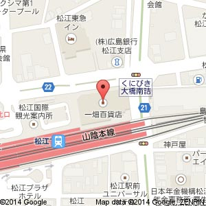 トピィーズ 松江店の地図