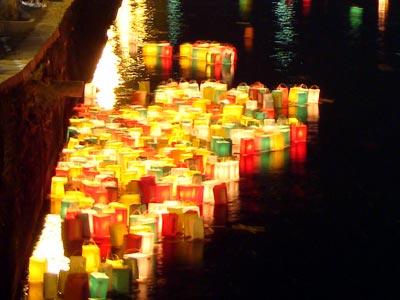 松江とうろう流し 2008
