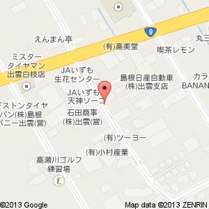 Tポイント自販機@春日自動車さん前の地図