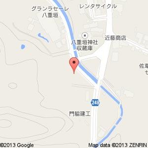 Tポイント自販機@八重垣神社駐車場の地図
