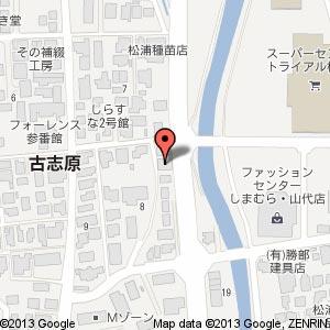 トラント・サンク(移転後)の地図